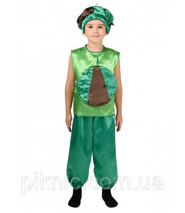 Детский карнавальный костюм Каштана для детей 4,5,6,7,8,9 лет. Костюм для мальчиков и девочек 340