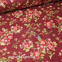 41013 Миллион роз в Провансе. Декоративная ткань для шитья, поделок и для лоскутного шитья (пэчворка)