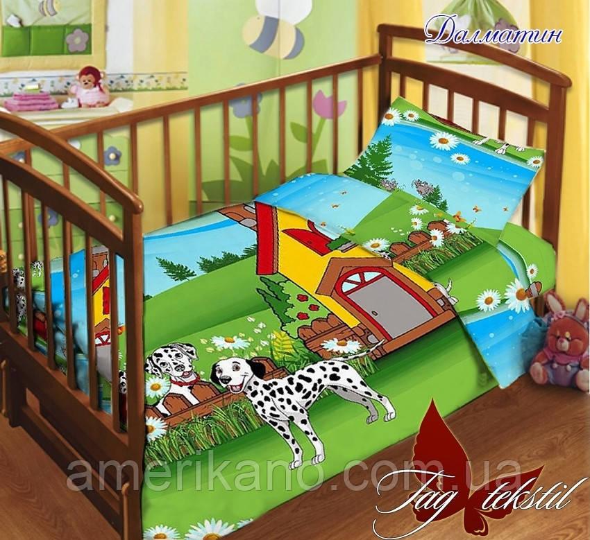 Детский комплект в кроватку. Есть вариант: простынь на резинке. Детское постельное белье.