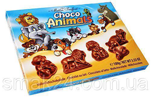 Шоколад молочный фигурный Choco Animals Maitre Truffout 100г Австрия