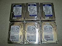 "Жесткий диск для компьютера 3.5"" 250 Гб/GB, 7200об/мин винчестер HDD бу"