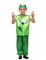 Костюм Пролісок для хлопчика 4,5,6,7,8,9 років. Дитячий карнавальний костюм на свято Весни Пролісок