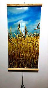 Обогреватель инфракрасный картина-пшеница. Мощность 200 Вт., размер 1000 х 500 мм.