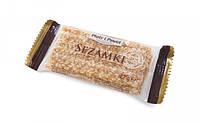 Конфеты (козинаки) кунжут в карамели в виде пластинок Sezamki 27г Польша, фото 1
