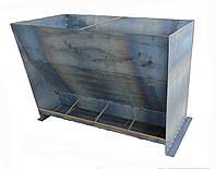 Годівниця для свиней від виробника на 4 місця,1,5 мм