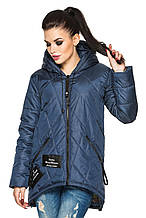 Женская деми - куртка модного фасона.