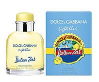 Чоловіча туалетна вода Dolce & Gabbana Light Blue Italian Zest (Дольче Габана Лайт італіан зест) 125 мл