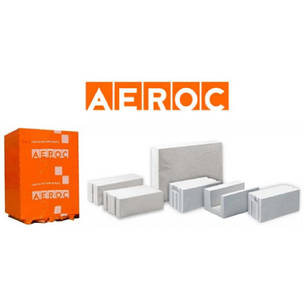 Aeroc D400 / D500 гладкий, паз-гребень (Обухов), фото 2