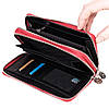 Женский кошелек-клатч Eminsa 2095-12-5 кожаный красный  , фото 5