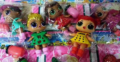"Кукла сюрприз ""LOL Glitter LUX светящиеся"" на листе , фото 3"