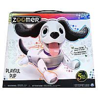 Интерактивный роботизированный щенок Zoomer Playful Pup Robotic Dog Spin Master 6042065 оригинал