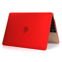 "Чехол-накладка для Apple MacBook Air 13"" (2008-2017)  красный"