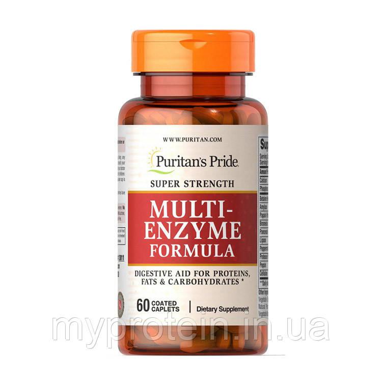 Puritan's Pride Энзимы Multi Enzyme Formula 60 caplets