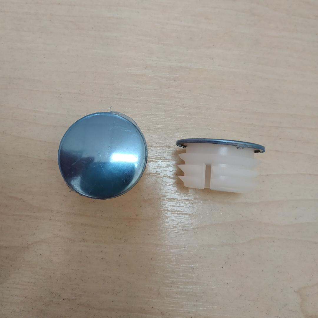 Заглушка внутренняя круглая 32 ХРОМ