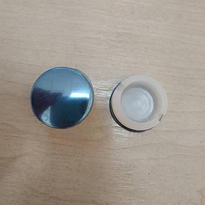 Заглушка внутренняя круглая 32 ХРОМ, фото 2