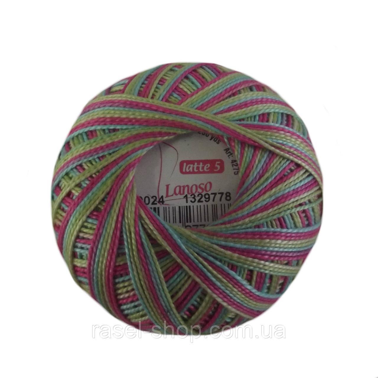 Пряжа Perle 7509 для ручного вязания