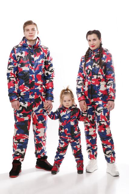 Верхняя весенняя одежда Family Look