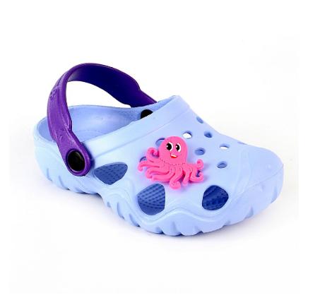 Детские кроксы синие ( Код: 117074 JA голубой )