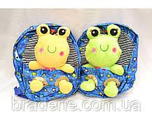 Мягкая игрушка-рюкзак Зоопарк 491-1, фото 3