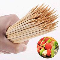 Бамбуковая шпажка для шашлыка (шампур), 15см, 100шт/уп., Бамбукова шпажка для шашлику (шампур), 15см, 100шт /