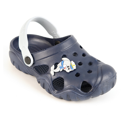 Детские кроксы  ( Код:117077 JA т.синий