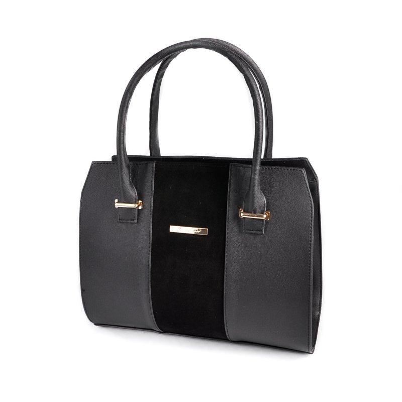 7000392f02a0 Сумка саквояж М62-91/замш деловая с замшевой полоской - Интернет магазин  сумок SUMKOFF