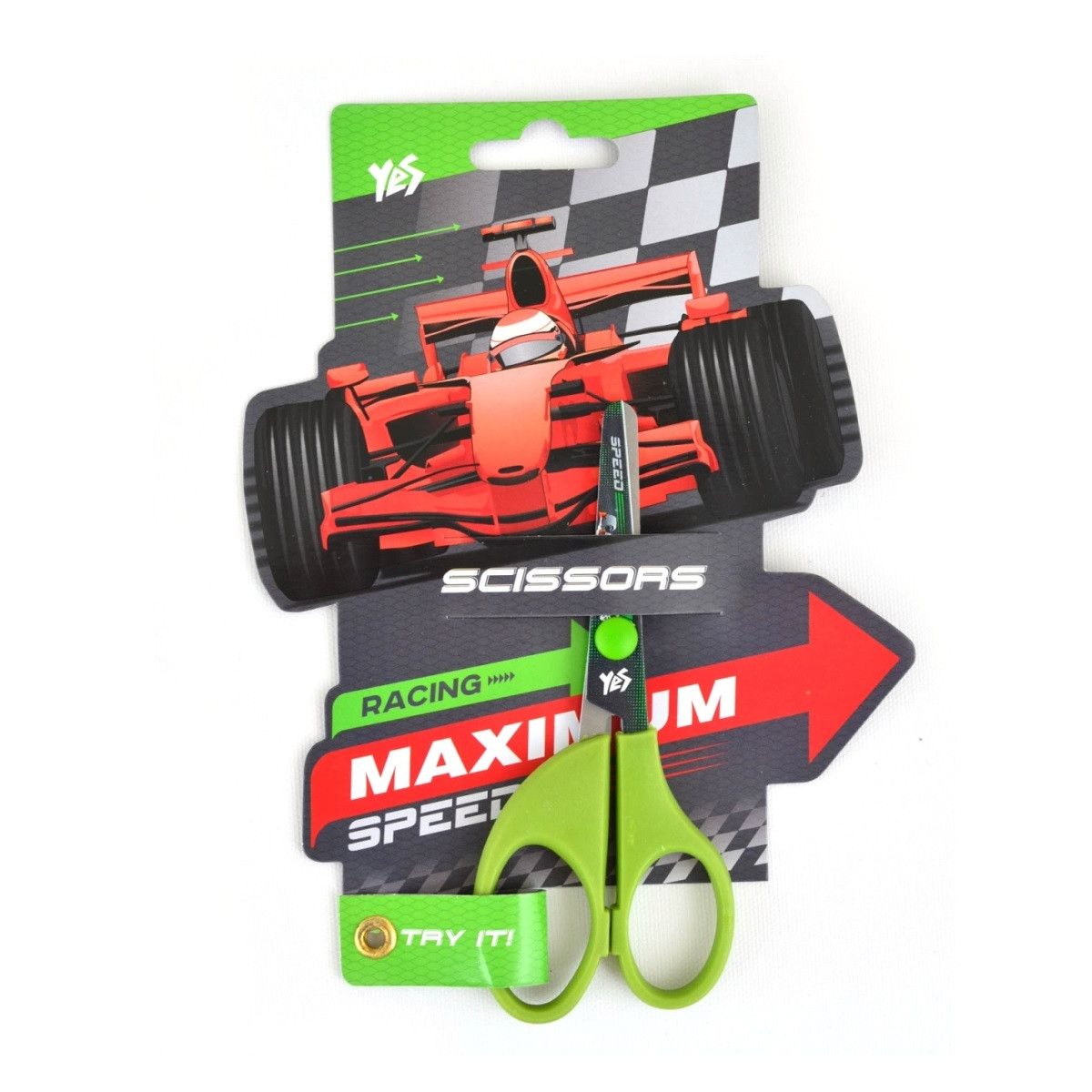"""Ножницы с принтом на лезвии """"Maximus speed"""" 480325"""
