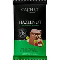 Молочный шоколад с Лесным орехом Cachet, 300 гр.