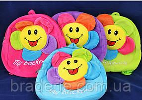 Мягкая игрушка-рюкзак Цветочек 491-2