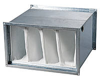 Прямоугольный карманный воздушный фильтр 600х350