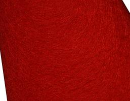 Фетр 1мм красный