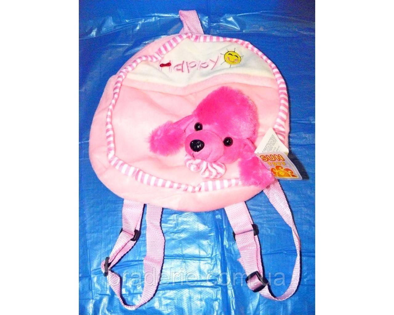 Мягкая игрушка-рюкзак Собачка SP17170-2