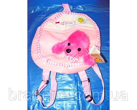 Мягкая игрушка-рюкзак Собачка SP17170-2, фото 2