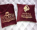 Подушка с вышивкой именной, фото 4