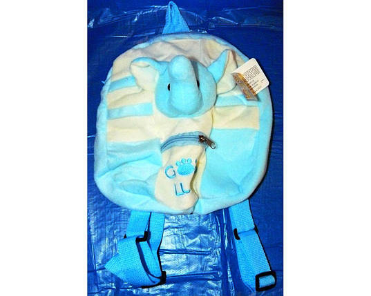 Мягкая игрушка-рюкзак Слоник 17128, фото 2