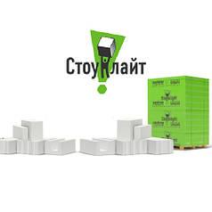 Перегородочный газобетон гладкий, паз-гребень Стоунлайт D400 / D500