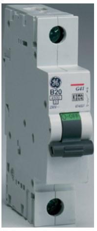 Автоматический выключатель General Electric G61C40 однополюсный, 674609