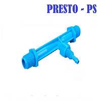"""Инжектор 3/4"""" Вентури для системы удобрений Presto-PS"""