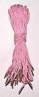 Шнурки Рожевий просочені круглі 70см