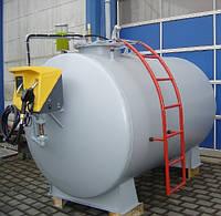 МИНИ АЗС - решение для заправки, хранения, учета дизельного топлива, бензина 10000 литров