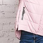 Стильная женская куртка с капюшоном - модель 2019 - (кт-454), фото 2