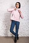 Стильная женская куртка с капюшоном - модель 2019 - (кт-454), фото 3