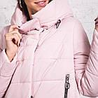 Стильная женская куртка с капюшоном - модель 2019 - (кт-454), фото 4