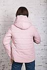Стильная женская куртка с капюшоном - модель 2019 - (кт-454), фото 5