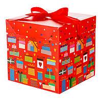 Коробка подарочная Любовь и нежность 22*22см (0346JH)