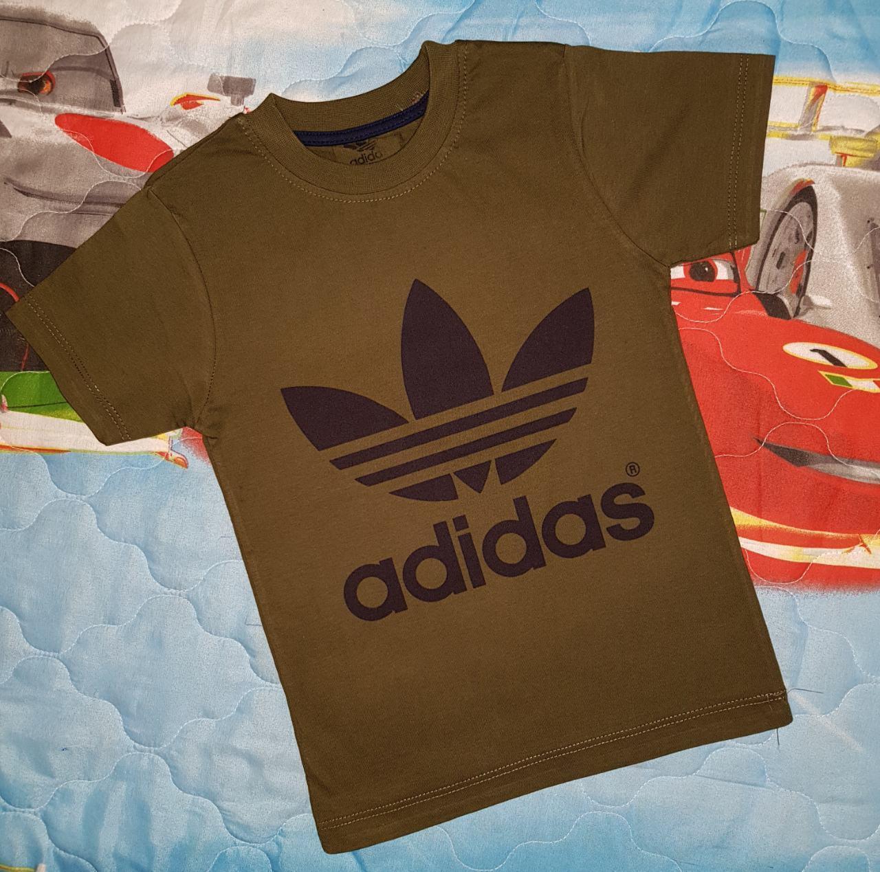 Футболка на мальчика 9-12 лет 100 % хлопок Adidas