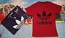Футболка на мальчика 9-12 лет 100 % хлопок Adidas, фото 2