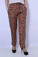 Штаны женские летние леопард 2663