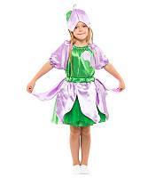 Детский костюм Колокольчик, Дюймовочка для девочки 4-9 лет Карнавальный костюм на праздник Осени 341