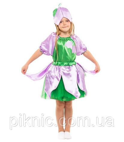 Детский костюм Колокольчик, Дюймовочка для девочки 4-9 лет Карнавальный костюм на праздник Осени 341, фото 2